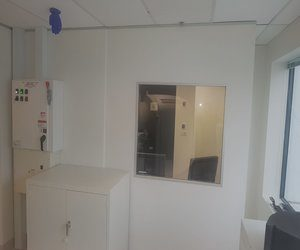 GE SPECT CT Room I-MED Prince of Wales Hospital Randwick lead lined wall
