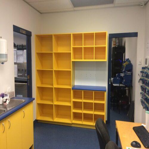 WellPet Vets - Nepean Animal Hospital-Regentville Hallway Dispensary shelving