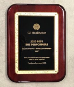 GE Healthcare Award
