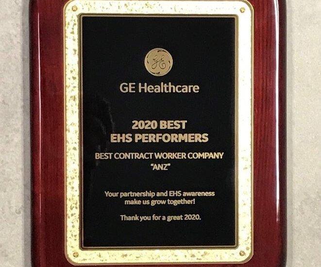GE Healthcare Award